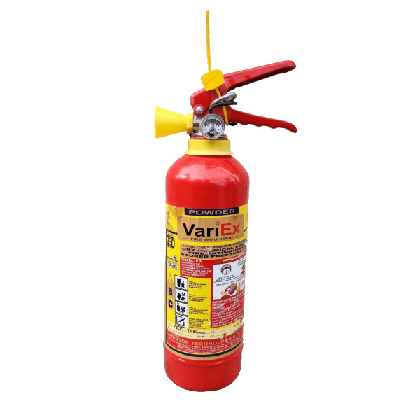 ABC Powder Type Fire Extinguisher - 1Kg