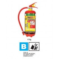 Clean Agent Type Fire Extinguisher - 4Kg